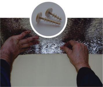 монтаж на бетонное покрытие